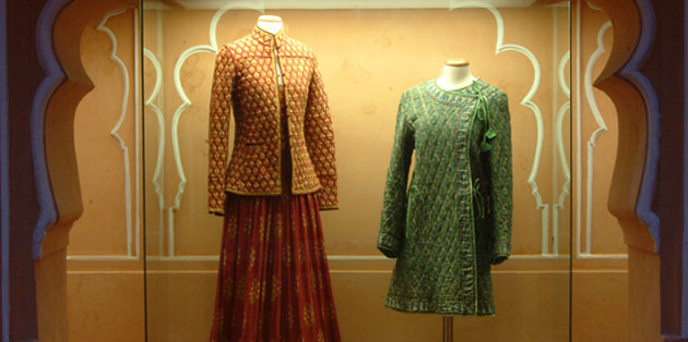 Prototype Anokhi garments from the 1970's featured in Vouge and worn by Queen Sofia of Spain